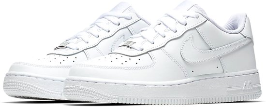 749b75ee818 bol.com | Nike Air Force 1 (GS) Sneakers Kinderen - White-White maat 36