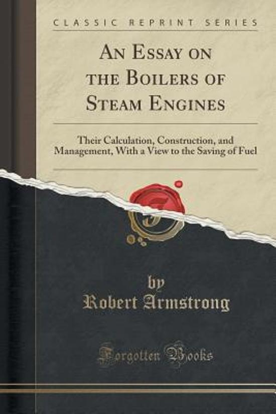 bol.com   An Essay on the Boilers of Steam Engines, Robert Armstrong ...