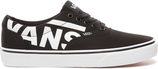 Vans Mn Doheny Heren Sneakers (Big Logo) BlackWhite Maat 40.5