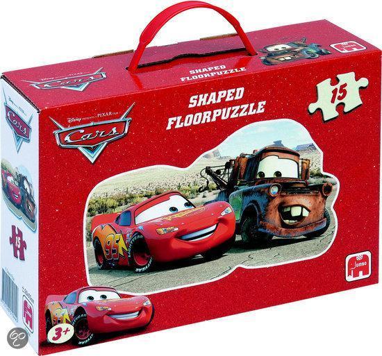 Cars Vloerpuzzel