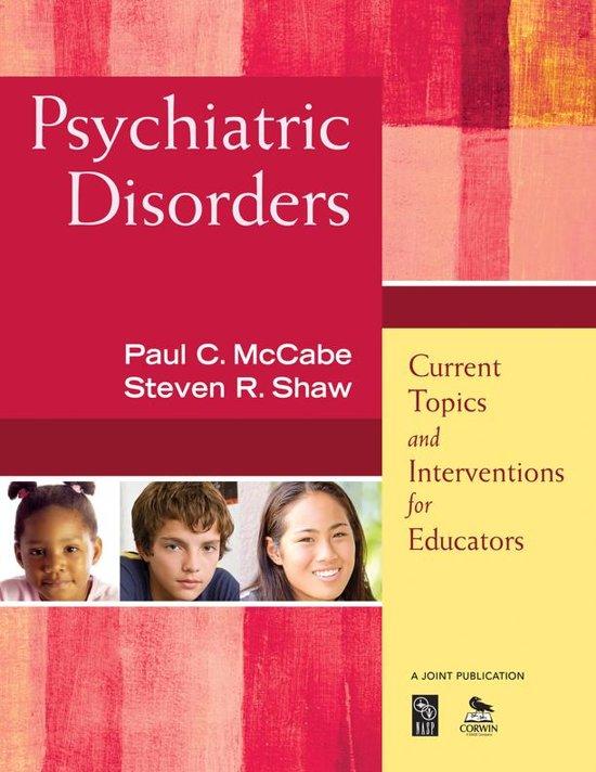 psychiatric disorders