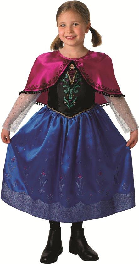 Anna van Frozen™ kostuum voor meisjes  - Kinderkostuums - 122/128