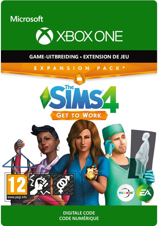 The Sims 4: Get To Work - Add-on - Xbox One