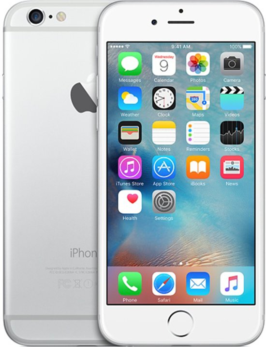 Apple iPhone 6 Plus refurbished door Renewd - 128GB - Zilver