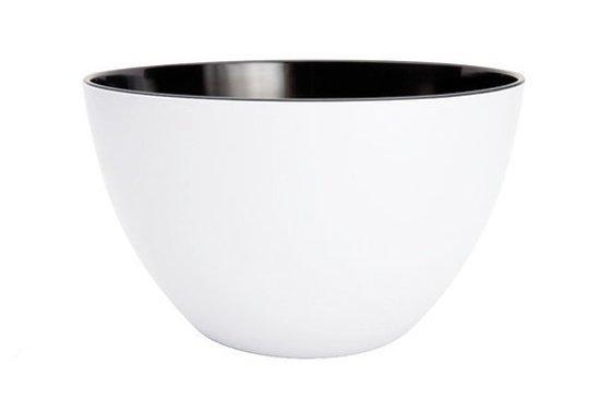 Zak!Designs Twotone Saladeschaal - Ø 18 cm - Zwart