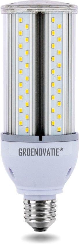 Groenovatie LED Corn/Mais Lamp E27 Fitting - 20W - 190x49 mm - Neutraal Wit - Waterdicht