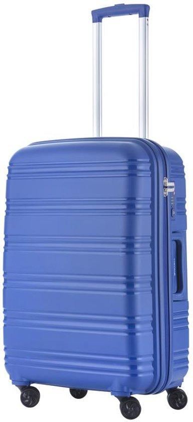 24783a060b6 TravelZ Big Bars Reiskoffer 69 cm met dubbele wielen - Trolley koffer met  TSA-slot