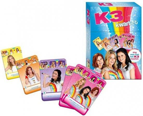 Afbeelding van het spel K3 kwartet spel