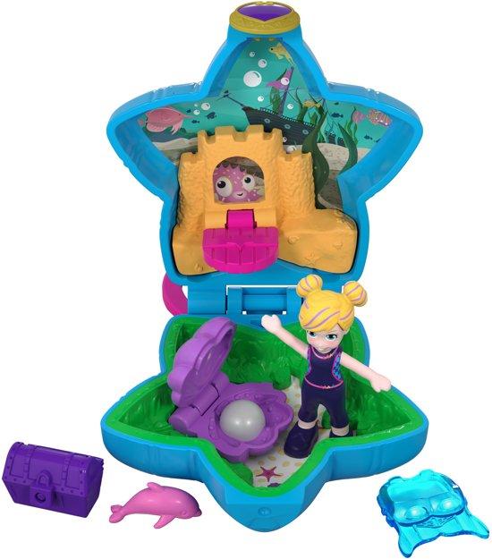 Polly Pocket Tiny Pocket Places Polly's Aquarium - Speelfigurenset