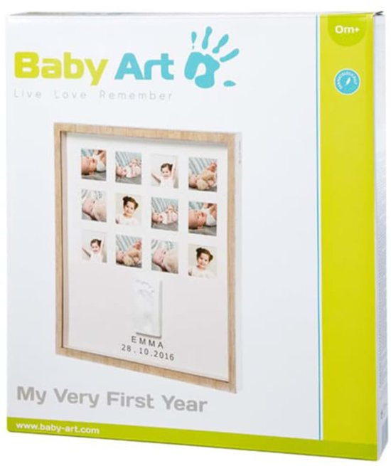 Baby Art My Very First Year (wooden line)