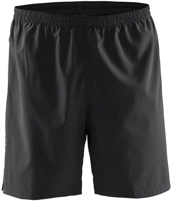 Craft pep shorts m - Sportbroek - Heren - Black - XXL