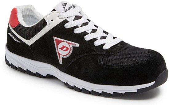 Dunlop Shoes Flying Arrow Zwart Lage Veiligheidssneakers S3 Uniseks 44