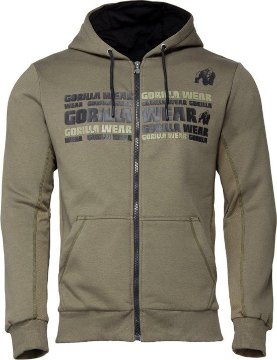 army groen hoodie adidas