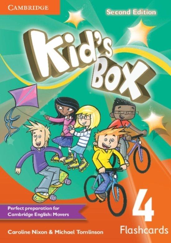 Afbeelding van het spel Kid's Box Level 4 Flashcards (pack of 103)