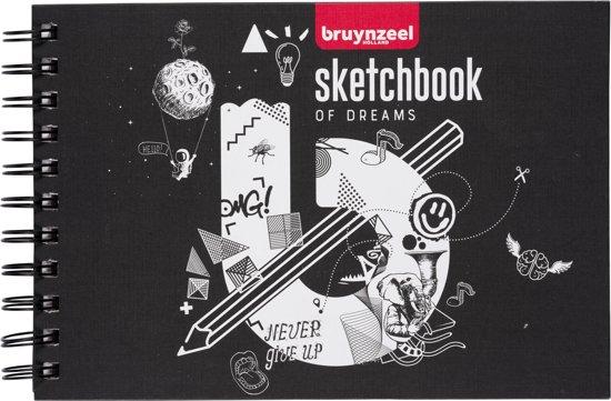 Bruynzeel Teens schetsboek A5