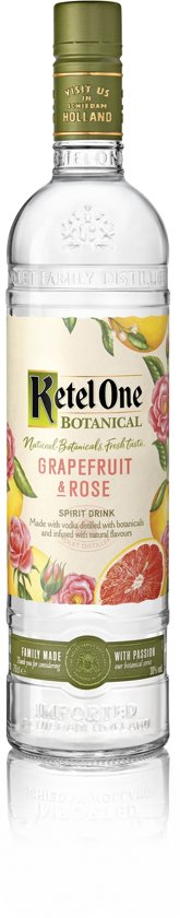 Ketel One Botanical Grapefruit Rose - 70 cl