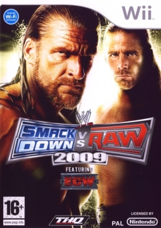 WWE Smackdown Vs Raw 2009 kopen