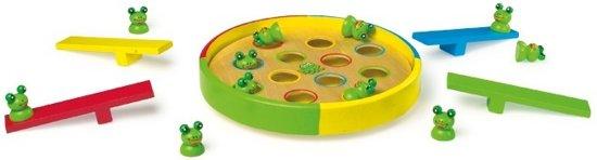 Afbeelding van het spel Houten spel Springkikkers