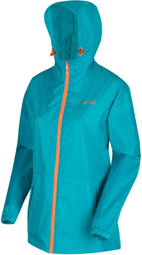Regatta - Pack-It III Regenjack - Dames  - Turquoise - Maat 48