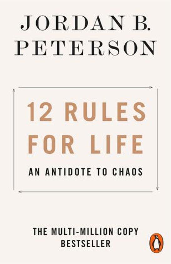 Boek cover 12 Rules for Life van Jordan Peterson (Onbekend)