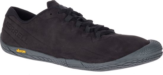 Merrell Vapor Glove 3 Luna Leather Sportschoenen Heren - Black
