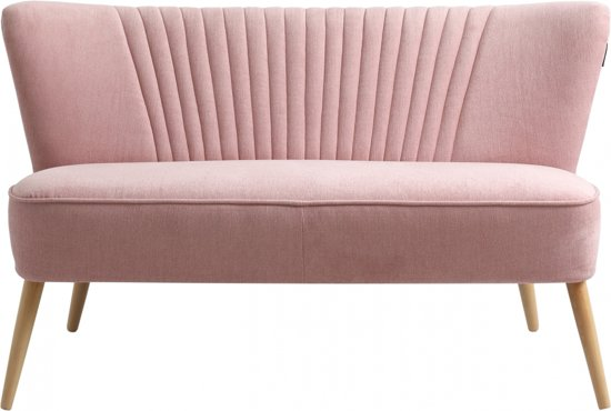 Bol.com i sofa lola 2 zitsbank roze