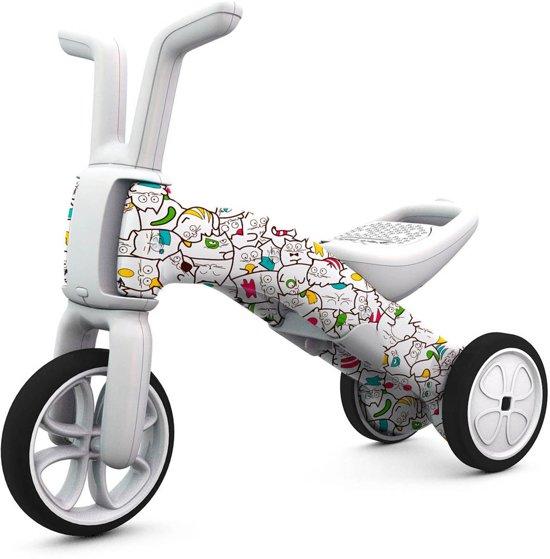 Bunzi Catmouflage/FAD05 - 2 en 3 wiel in één - Fabulous Artistic Design - Limited edition - Loopfiets