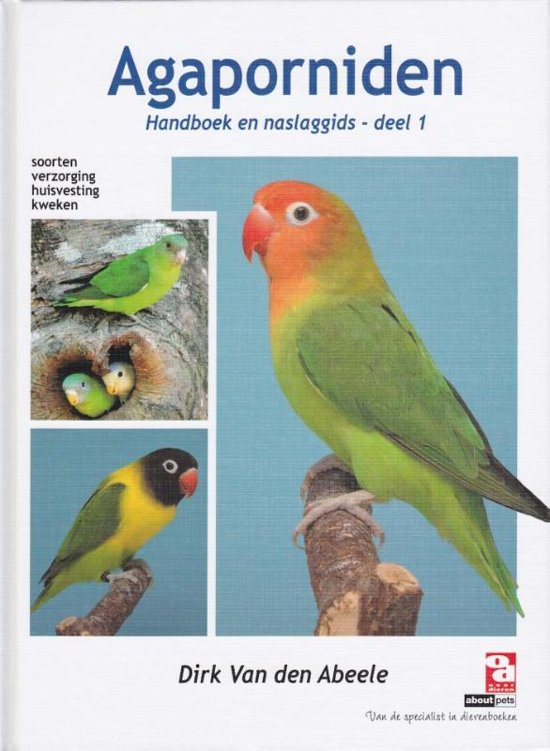 Over Dieren - Agaporniden 1 Soorten, verzorging, huisvesting, kweken