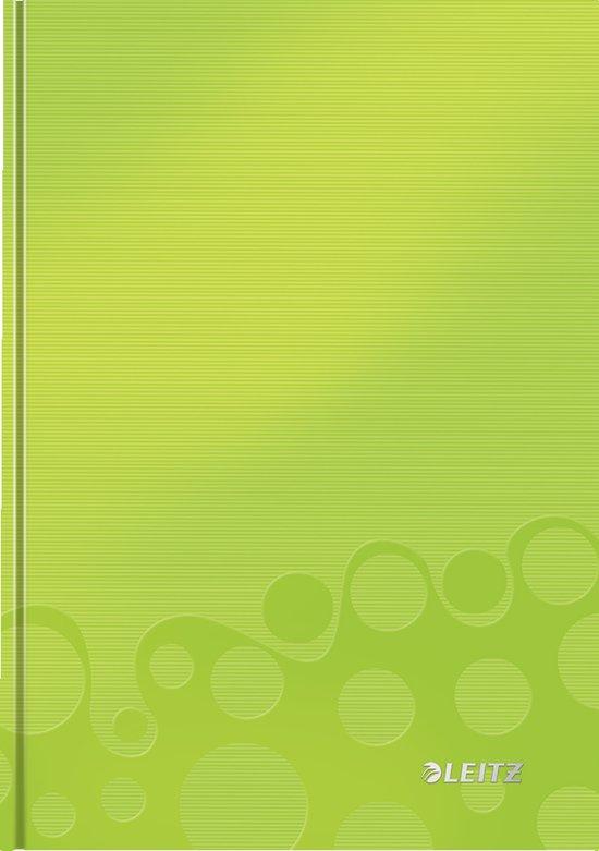 Leitz WOW Notitieboek - A5 - Gelijnd - Harde Kaft - Groen