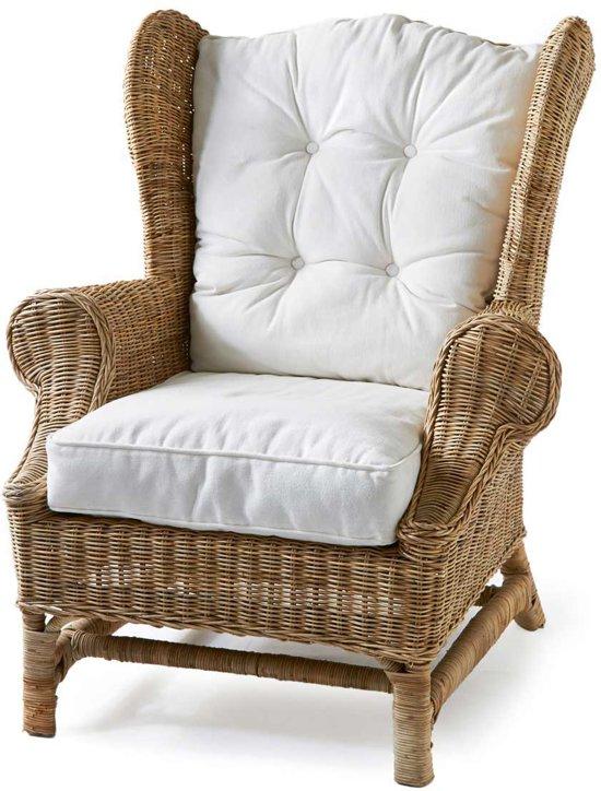 Riviera Maison Fauteuil Roze.Riviera Maison Nicolas Wing Chair Fauteuil Wit