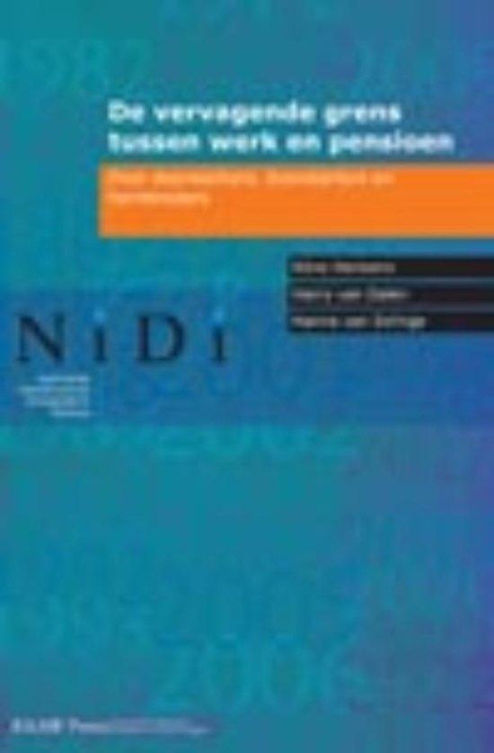 NIDI rapport 78 - De vervagende grens tussen werk en pensioen