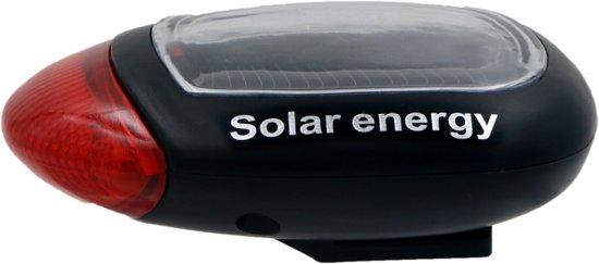 Handige solar fietslamp