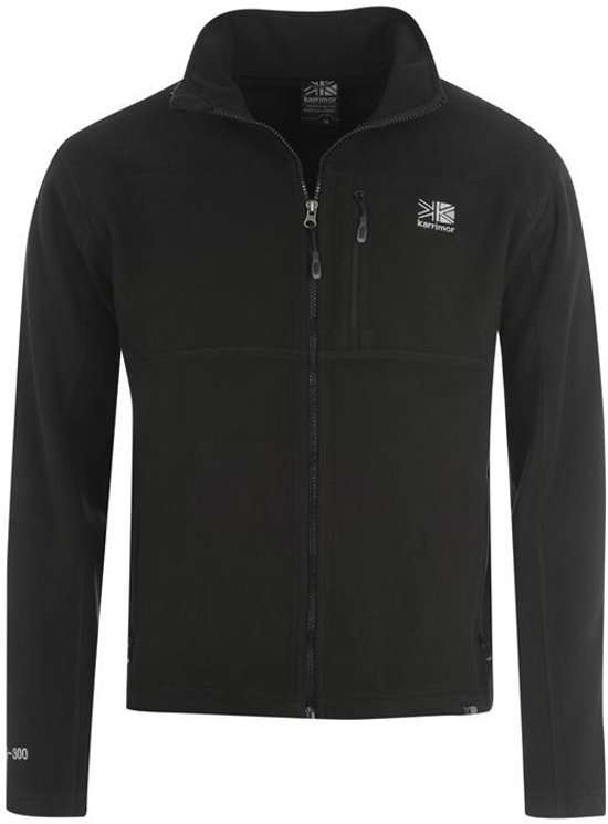 Karrimor Polar Fleece Jas - Heren - Black - XL