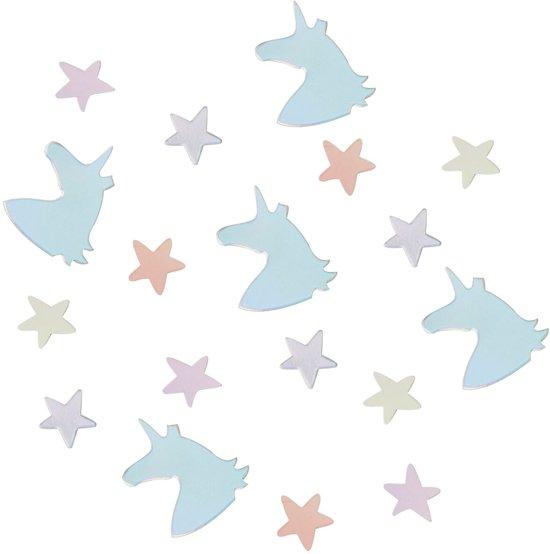 Tafelconfetti - Unicorn & Sterren (14 gram) - Ginger Ray Valentinaa