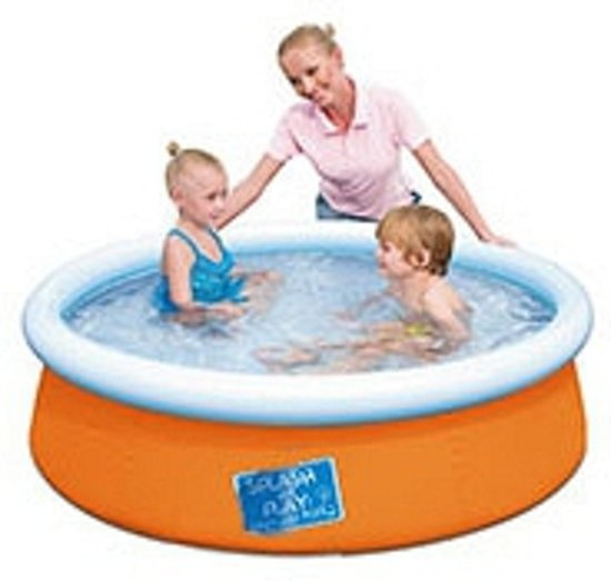 Oranje zwembad