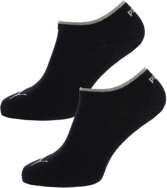 Puma Sneaker Sokken Zwart Goud Lurex 35 38