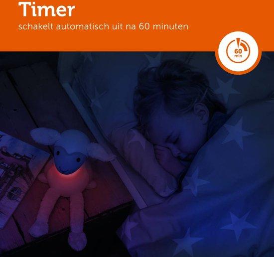 Zazu - Fin 2.0 - Grijs - Nachtlampje - Schaaplampje - Leeslampje geschikt voor in bed
