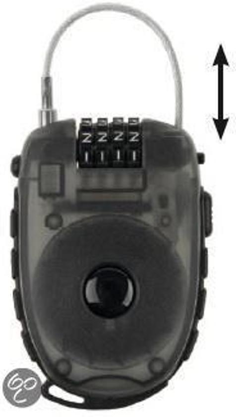 M-Wave Lock 'n Roll - Kabelslot - 90 cm Lang - 2.4 mm Dik