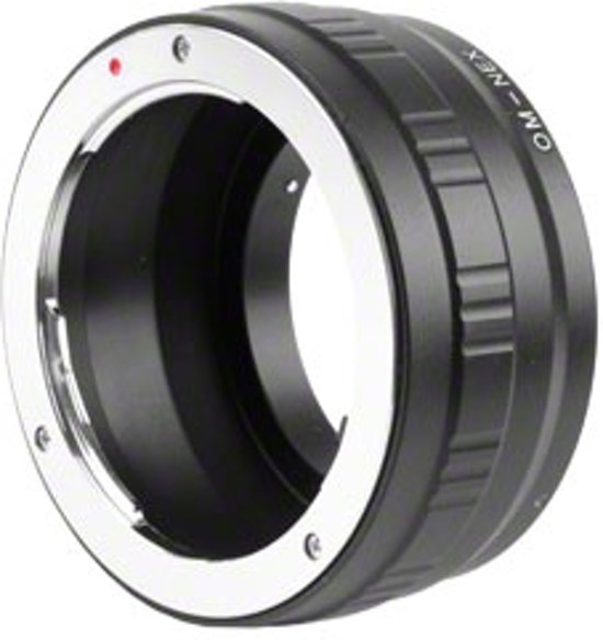 Kipon adapter Olympus OM objectief a. Sony E Mount camera