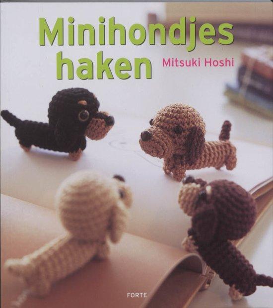 Bolcom Minihondjes Haken Mitsuki Hoshi 9789058778437 Boeken