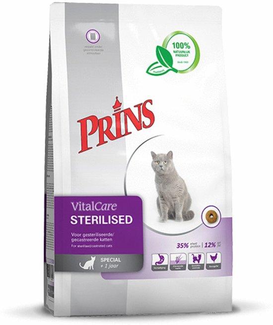 Prins Vital Care Kat Adult Sterilised - Kattenvoer - 1.5 kg