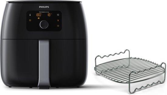 Philips Avance Airfryer XXL HD9651/90 - Hetelucht friteuse met Meerlaagsrekje