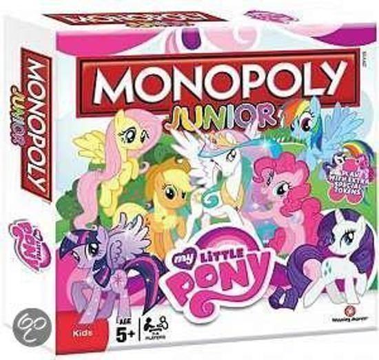 Afbeelding van het spel Monoply junior: My Little Pony