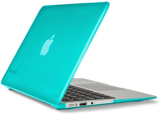 96c0fa0d53d Speck Seethru - Laptop Cover / Hoes voor MacBook Air 11 inch - Calypso Blue