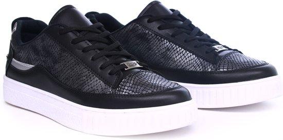 Zwart Trandy Maat Heren Zwarte 40 Sneakers dvnttq