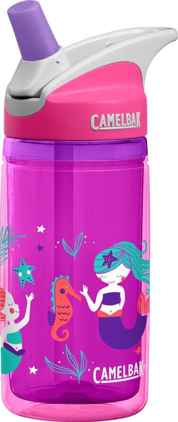 fcf3303c5f9 CamelBak Eddy Kids Drinkfles Insulated - 400 ML - Roze (Pink Mermaids)