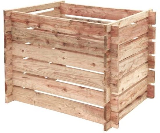 Compostsilo / compostbak hout  70x100x70