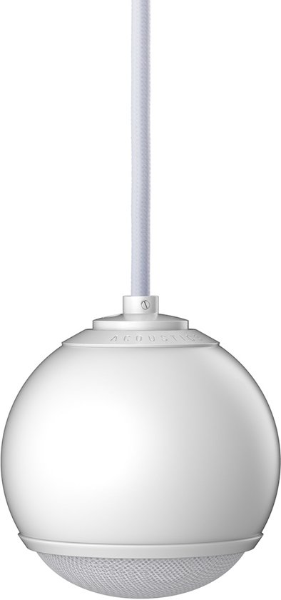 Gallo Acoustics Micro Droplet - Hangende Speaker - Mat Wit