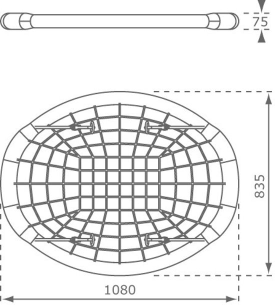 Axi Oval Nestschommel