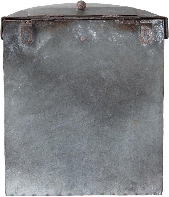 Clayre & Eef Brievenbus 24x10x29 cm grijs